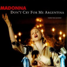 Don't Cry for Me Argentina (US - Maxi Single)