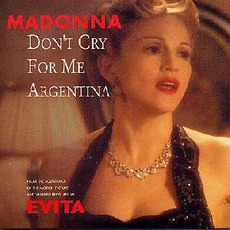 Don'T Cry For Me Argentina (5'' Cds - Germany)