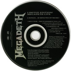 Limited Edition Megadeth Live!