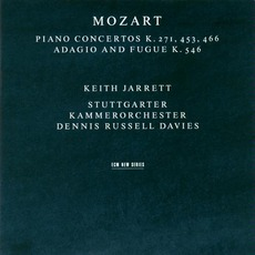 Piano Concertos Kv 271, 453, 456 / Adagio And Fugue Kv 546 mp3 Album by Wolfgang Amadeus Mozart