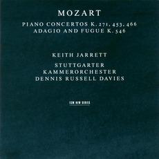 Piano Concertos Kv 271, 453, 456 / Adagio And Fugue Kv 546