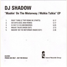 Mashin' On The Motorway EP