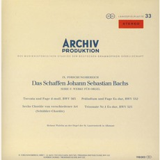 Orgelwerke Bwv 525, 552, 565, 645-650, 768 (Feat. Organ: Helmut Walcha)