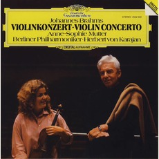 Violin Concerto D Major Op. 77, Double Concerto A Minor Op. 102 (Berliner Philharmoniker Feat. Conductor: Herbert Von Karajan, VIolin: Anne-Sophie Mutter, Cello: António Meneses) mp3 Album by Johannes Brahms