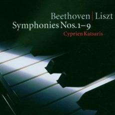 Symphonies Nos. 1-9 (feat. Piano: Cyprien Katsaris) mp3 Album by Ludwig Van Beethoven