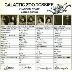 Galactic Zoo Dossier (Remastered) mp3 Album by Arthur Brown's Kingdom Come