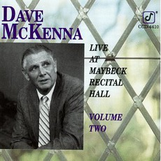 Live At Maybeck Recital Hall, Volume Two