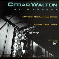 Maybeck Recital Hall Series, Volume Twenty-Five mp3 Live by Cedar Walton