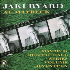 Maybeck Recital Hall Series, Volume Seventeen mp3 Live by Jaki Byard