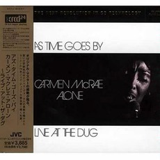 As Time Goes By: Carmen McRae Alone Live At The Dug (Remastered)