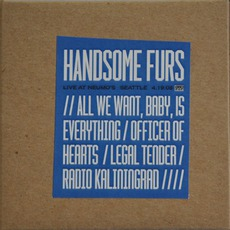 2008-04-19: Neuomo's, Seattle, CA, USA mp3 Live by Handsome Furs