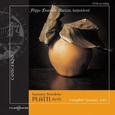Complete Sonatas For Harpsichord, Vol. 1 mp3 Album by Filippo Emanuele Ravizza