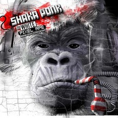 The White Pixel Ape (Smoking Isolate To Keep In Shape) by Shaka Ponk