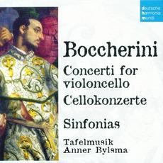 50 Jahre Deutsche Harmonia Mundi - CD14, Boccherini: Concerti For VIoloncello, Sinfonias