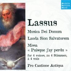 """50 Jahre Deutsche Harmonia Mundi - CD23, Lassus: Musica Dei Donum, Lauda Sion Salvatorem, Missa """"Puisque j'ay perdu"""""""