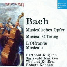 50 Jahre Deutsche Harmonia Mundi - CD4, Bach: Musical Offering by Johann Sebastian Bach