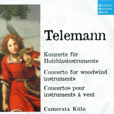 50 Jahre Deutsche Harmonia Mundi - CD45, Telemann: Concerto For Woodwind Instruments by Georg Philipp Telemann