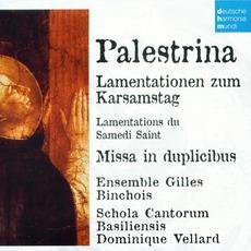 50 Jahre Deutsche Harmonia Mundi - CD34, Palestrina: Lamentationen Zum Karsamstag, Missa In Duplicibus mp3 Artist Compilation by Giovanni Pierluigi Da Palestrina