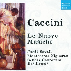 50 Jahre Deutsche Harmonia Mundi - CD16, Caccini: Le Nuove Musiche