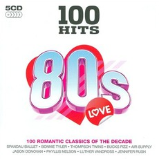 100 Hits: 80s Love mp3 Compilation by Various Artists