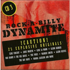 Rock-A-Billy Dynamite, CD 3 mp3 Compilation by Various Artists