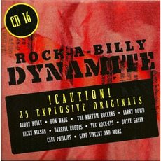 Rock-A-Billy Dynamite, CD 16 mp3 Compilation by Various Artists