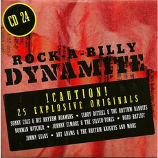 Rock-A-Billy Dynamite, CD 24 mp3 Compilation by Various Artists