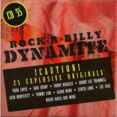 Rock-A-Billy Dynamite, CD 35 mp3 Compilation by Various Artists