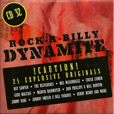Rock-A-Billy Dynamite, CD 32 mp3 Compilation by Various Artists