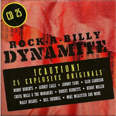 Rock-A-Billy Dynamite, CD 25 mp3 Compilation by Various Artists