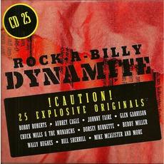 Rock-A-Billy Dynamite, CD 25