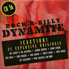 Rock-A-Billy Dynamite, CD 36 mp3 Compilation by Various Artists