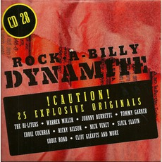 Rock-A-Billy Dynamite, CD 28 mp3 Compilation by Various Artists