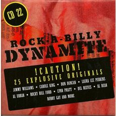 Rock-A-Billy Dynamite, CD 22 mp3 Compilation by Various Artists