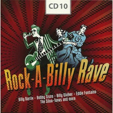 Rock-A-Billy Rave, CD 10 by Various Artists