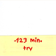 Try by -123 min.