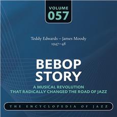 Bebop Story, Volume 57 by Teddy Edwards & James Moody