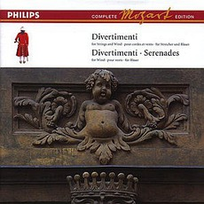 Volume 3: Divertimenti for Strings and Winds, Divertimenti & Serenades for Winds by Wolfgang Amadeus Mozart