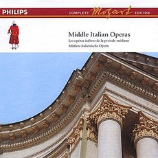 Volume 14: Middle Italian Operas by Wolfgang Amadeus Mozart