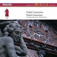 Volume 5: VIolin Concertos; Wind Concertos mp3 Artist Compilation by Wolfgang Amadeus Mozart