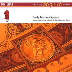Volume 13: Early Italian Operas mp3 Artist Compilation by Wolfgang Amadeus Mozart