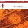 Volume 13: Early Italian Operas