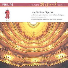 Volume 15: Late Italian Operas mp3 Artist Compilation by Wolfgang Amadeus Mozart