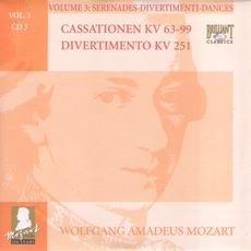 Complete Works, Volume 3: Serenades, Divertimenti, Dances - CD3 mp3 Artist Compilation by Wolfgang Amadeus Mozart