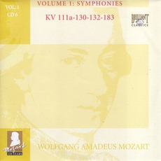 Complete Works, Volume 1: Symphonies - CD6 mp3 Artist Compilation by Wolfgang Amadeus Mozart