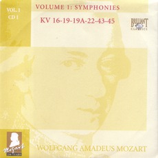 Complete Works, Volume 1: Symphonies - CD1 mp3 Artist Compilation by Wolfgang Amadeus Mozart