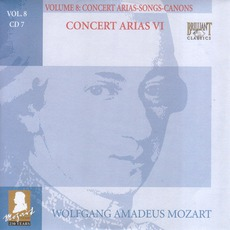 Complete Works, Volume 8: Concert Arias, Songs, Canons - CD7 mp3 Artist Compilation by Wolfgang Amadeus Mozart