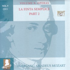 Complete Works, Volume 9: Operas - CD5 mp3 Artist Compilation by Wolfgang Amadeus Mozart