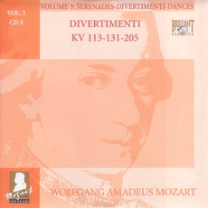 Complete Works, Volume 3: Serenades, Divertimenti, Dances - CD4 mp3 Artist Compilation by Wolfgang Amadeus Mozart