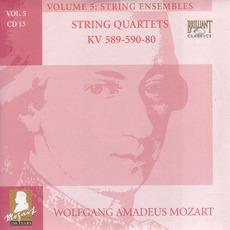 Complete Works, Volume 5: String Ensembles - CD13 mp3 Artist Compilation by Wolfgang Amadeus Mozart